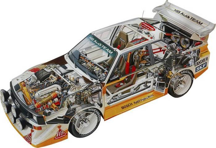 Audi Quattro A Rally Car For Sale
